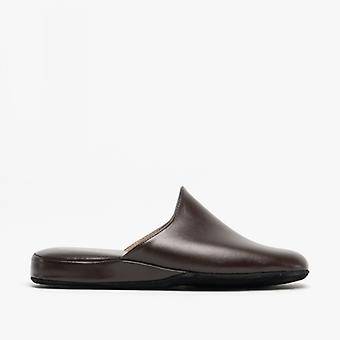 Chaleur Luca Mens Mule Slippers Brown