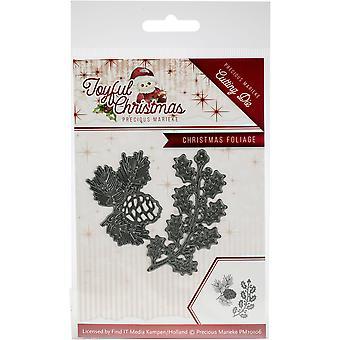 Find It Trading Precious Marieke Die-Foliage, Joyful Christmas