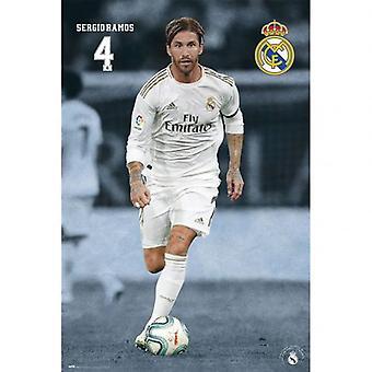 Real Madrid Poster Ramos 23