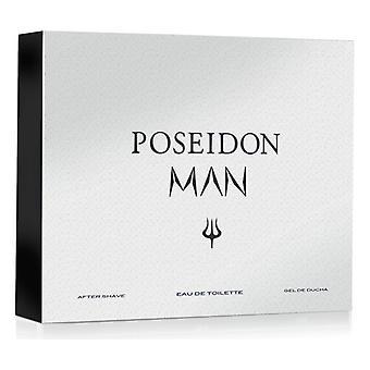 Men's Perfume Set Poseidon Poseidon EDT (3 pcs) (3 pcs)