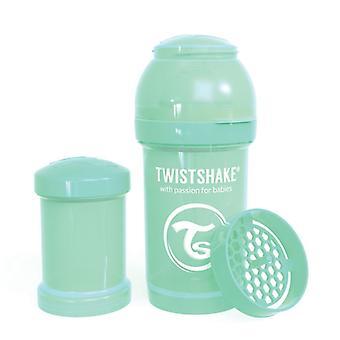 Twistshake Baby Bottle Anticolic 180Ml - Pastel Green