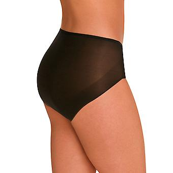 Naomi and Nicole Edgies Black Brief A105