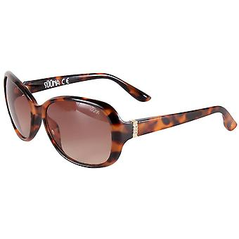 Suuna Classic Oval Sunglasses - Brown Tort