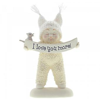 Snowbabies I Love You More Figurine