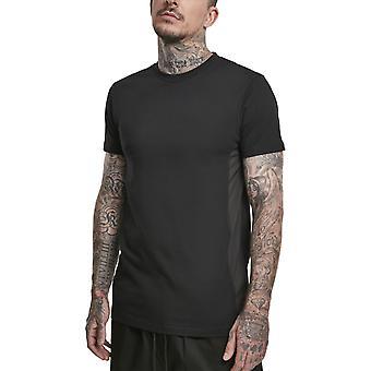城市经典 - 军事肌肉衬衫黑色