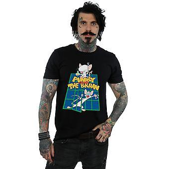 Animaniacs Men-apos;s Pinky And The Brain Laboratory T-Shirt