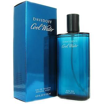 Viileä vesi miesten Davidoff 4,2 oz 125 ml Eau de Toilette Spray