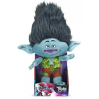 Trolls World Tour Branch 10 Inch Plush Cuddly Toy