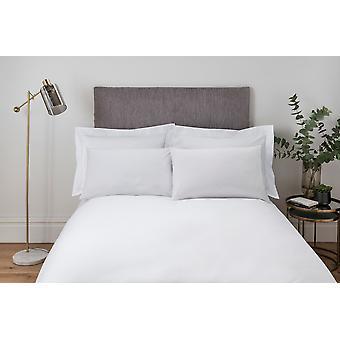 Plain Dye Bettdecke Set weiß - König