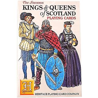 Heritage Playing Cards - Kings & Queens of Scotland