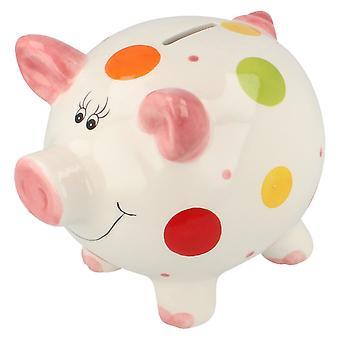Lesser & Pavey Piggy Bank Money Box LP28336