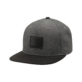 Element Collective Cap in Black Chambray