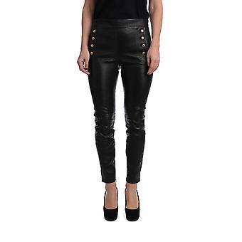 Givenchy Bw50fh60kl001 Femmes-apos;s Leggings en cuir noir