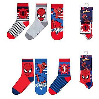 Spider-Man skarpety 3-pak - paski