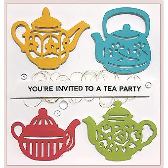 Spellbinders Tea Pots Dies