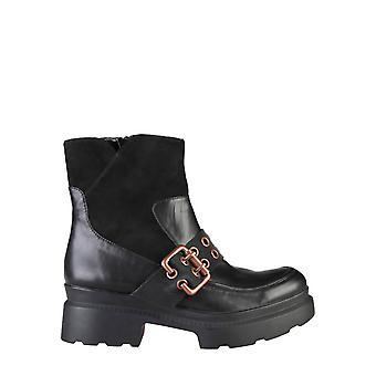 Ana Lublin Eredeti Nők őszi / téli boka boot - fekete szín 29064