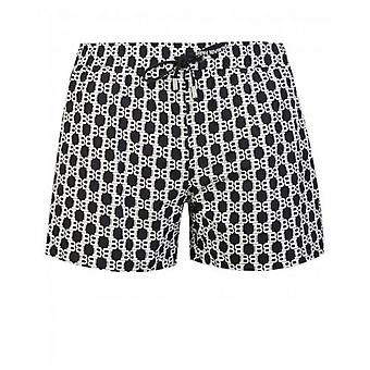 Balmain Swimwear All Over Print Swim Shorts