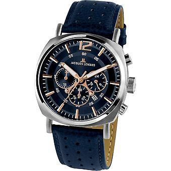 Jacques Lemans - Wristwatch - Men - Lugano - Sport - 1-1645.1I