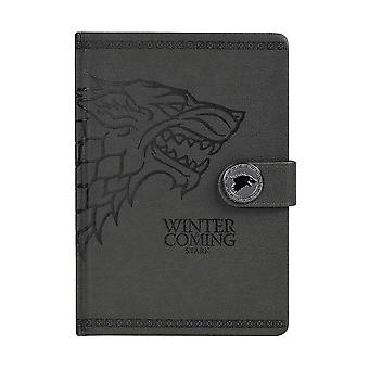Game of Thrones, Notebook - House Stark