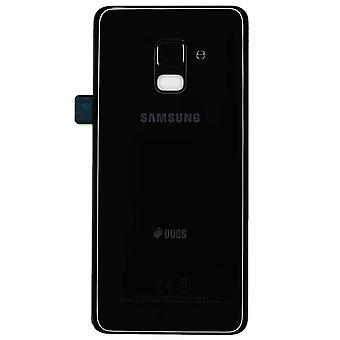 Подлинный Samsung Galaxy A8 - SM-A530 - DUOS Крышка аккумулятора - черный - GH82-15557A
