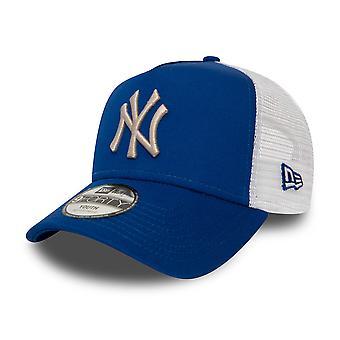 New Era Kids Trucker Cap - New York Yankees royal
