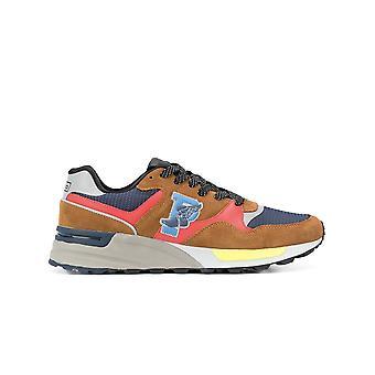 Ralph Lauren Ezcr012028 Men's Multicolor Suede Sneakers