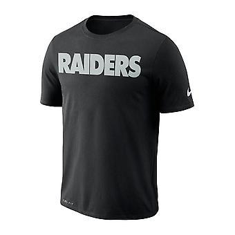 Nike Nfl Las Vegas Raiders Essential Wordmark Performance T-paita