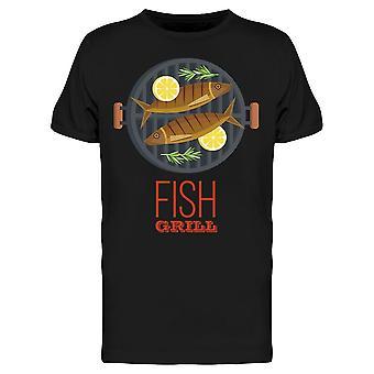 Fish On The Grill Tee Men's -Bild von Shutterstock
