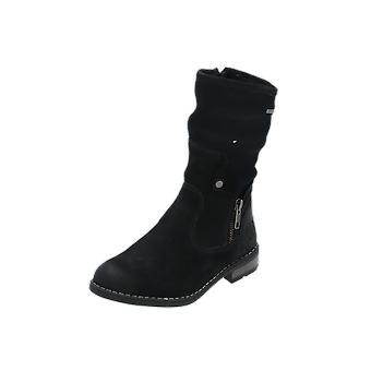 Zebra Schuhe Lulu Kinder Mädchen Stiefel Braun Schnür-Stiefelette Winter