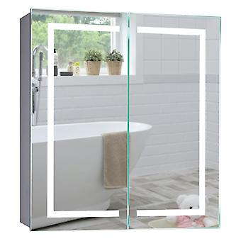 Neue Design LED Bathroom Mirror Cabinet 70cm(H)x65cm(W)x15cm(D) C28
