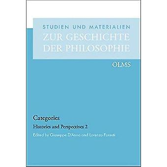 Categories - Histories and Perspectives 2 by Giuseppe D'Anna - 9783487