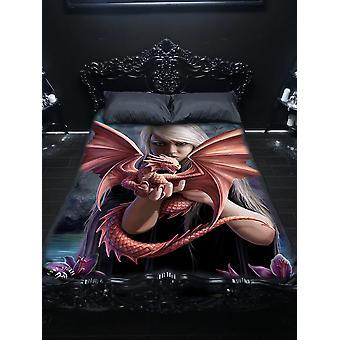 Wsh - sárkány rokon - twin bedspread felső borítóanne Stokes