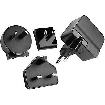 HN Power HNP12I-USBL6 HNP12I-USBL6 USB-laturi Pistorasia Max. lähtövirta 2400 mA 1 x USB-säädelty