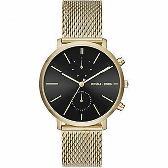 Michael Kors MK8503 Jaryn Gold-Tone Stainless Steel Mesh Band Unisex Watch
