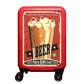 myTrolley Beer S, 4 rolls, 55 cm, 32 L, red