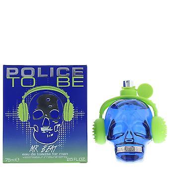 Polizia Mr Beat Eau de Toilette 75ml Spray per lui