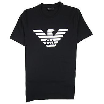 Emporio Armani Armani Jeans Eagle Logo T-shirt Nero 0999