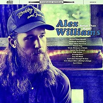 Alex Williams - Better Than Myself [CD] USA import