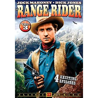 Range Rider: Vol. 3 [DVD] USA import