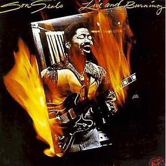 Son Seals - Live & Burning [CD] USA import
