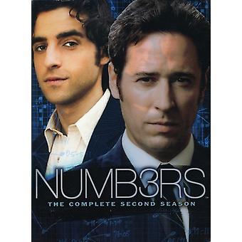 Numre - numre: Sæson 2 [DVD] USA importerer