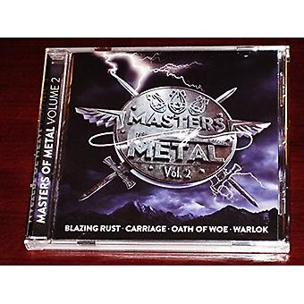 Various Artist - Masters of Metal: Vol. 2 [CD] USA import