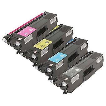 RudyTwos Replacement for Brother TN329 Set Toner Cartridge Black Cyan Magenta & Yellow Compatible with HL-L9200CDWT, L9200CDW, MFC-L9550CDW (NA), HL-L8350CDW, L9200CDWT, DCP-L8450CDW, MFC L8850CDW, L9