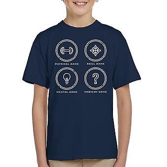 The Crystal Maze Ícones Kid 's T-Shirt