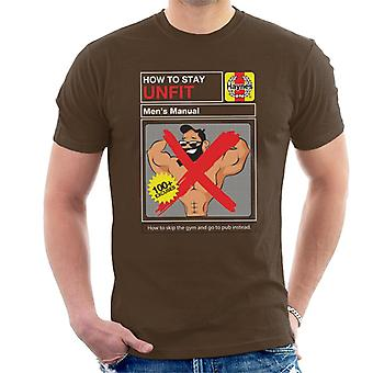 Haynes How To Stay Unfit Workshop Manual Men's T-Shirt