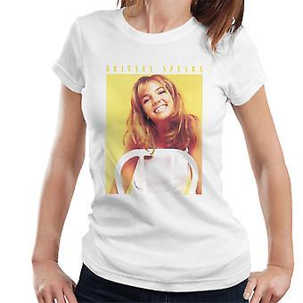 Britney Spears 90er Jahre Foto Damen T-Shirt