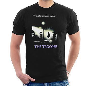 Alkuperäinen Stormtrooper Trooper Exorcist parodia tummille miehille ' s T-paita