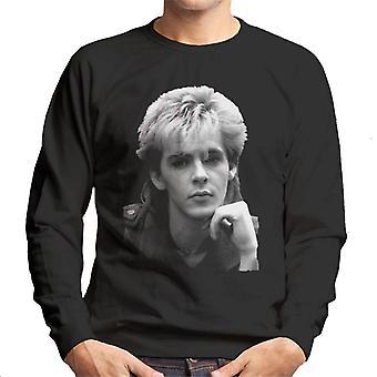 TV ganger Duran Duran Nick Rhodes portrett menns Sweatshirt