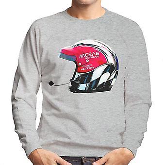 Motorsport Bilder McRae Helm WRC Men's Sweatshirt