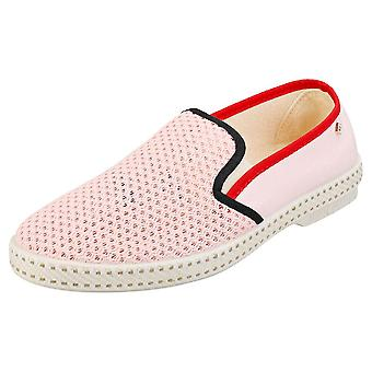 Rivieras Tdm Mer-veille Womens Espadrille Shoes in Pink